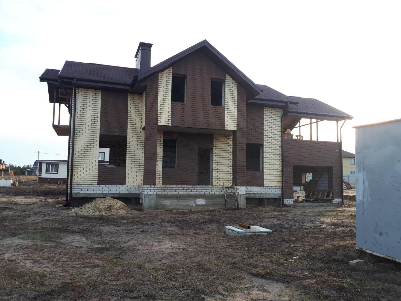 Строительство дома п. Изумрудный
