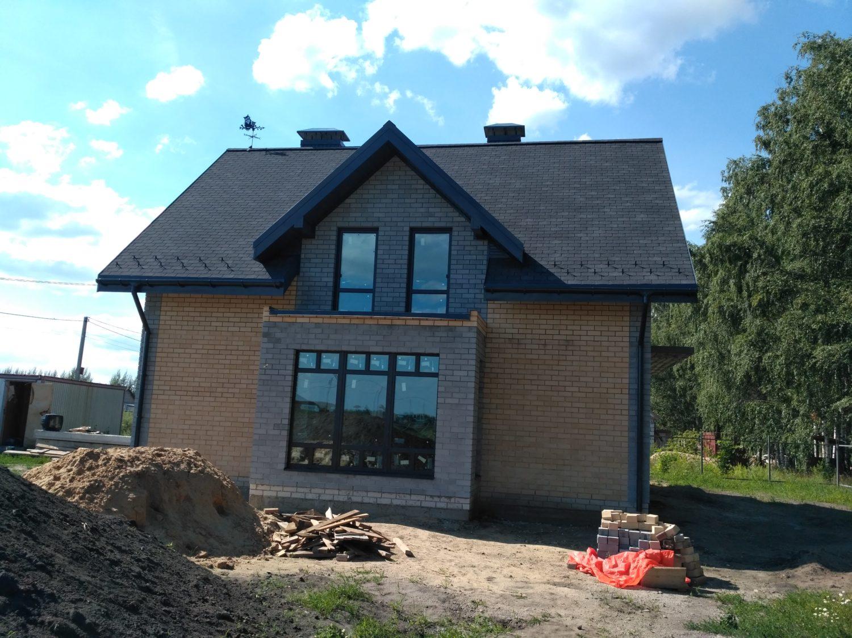 Строительство дома в Новой Усмани, мкр. Развитие