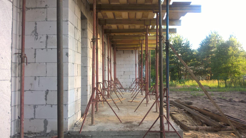 Строительство дома в с. Новоподклетное